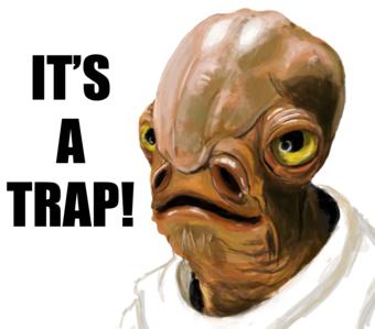 Star Wars It s a Trap