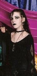 Me. Looking goth.