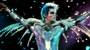 Film still: Brian Slade in his concert regalia