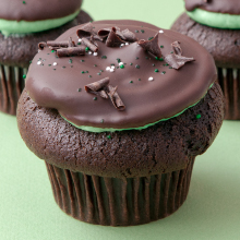 Cupcake Royale: The Grasshopper Cupcake