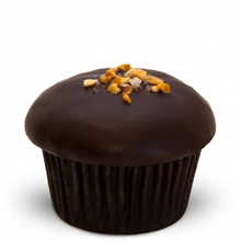 Trophy Cupcakes: Dark Chocolate Peanut Butter