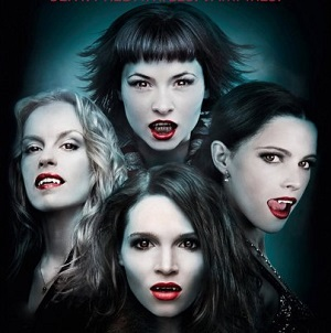 Promo shot of the faces of the 4 vampire women
