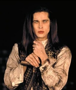 Promo shot of Brad Pitt as Louis in Interview with a Vampire