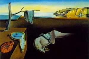 Dali's painting Persistance of Memory