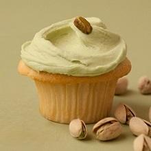 Sea-Salted Pistachio Cupcake