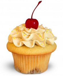 Pineapple Upside Down Cupcake