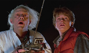 The Back to the Future team