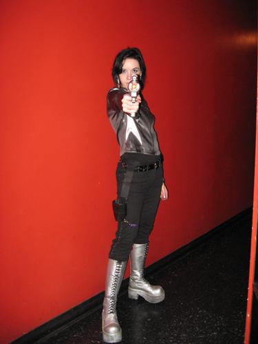 Me in a simple 'spacegirl' costume